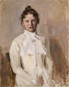 Valborg Nicolaysen (1899), Signes søster